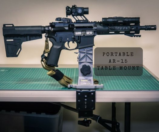 If you frequently work on your rifle in your kitchen or at your computer desk, you might want to consider how useful a portable table-mounted mag vise could be.