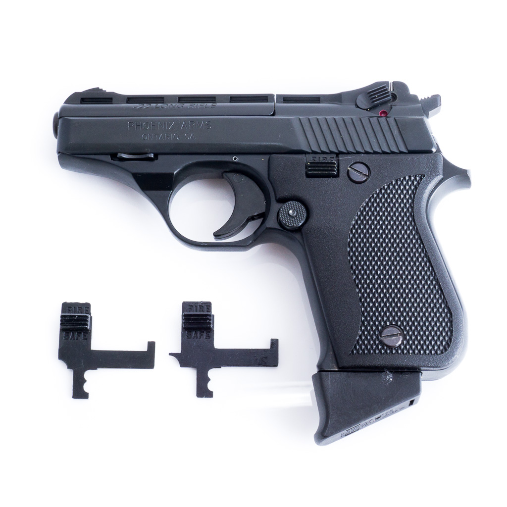 Phoenix Arms HP22A Upgraded Safety Mod