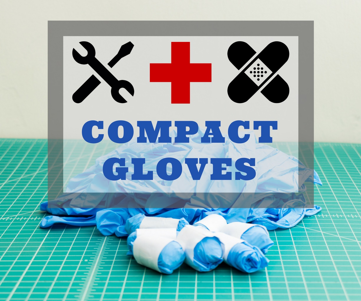 Compact First Aid or Utility Gloves - Title