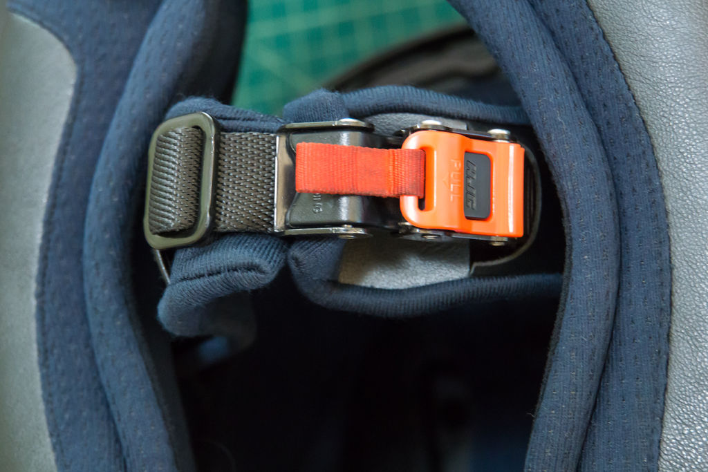 Though most Americans seem to still be skeptical, a helmet quick-release buckle is definitely the more convenient option. And contrary to popular belief, it isn't less safe.