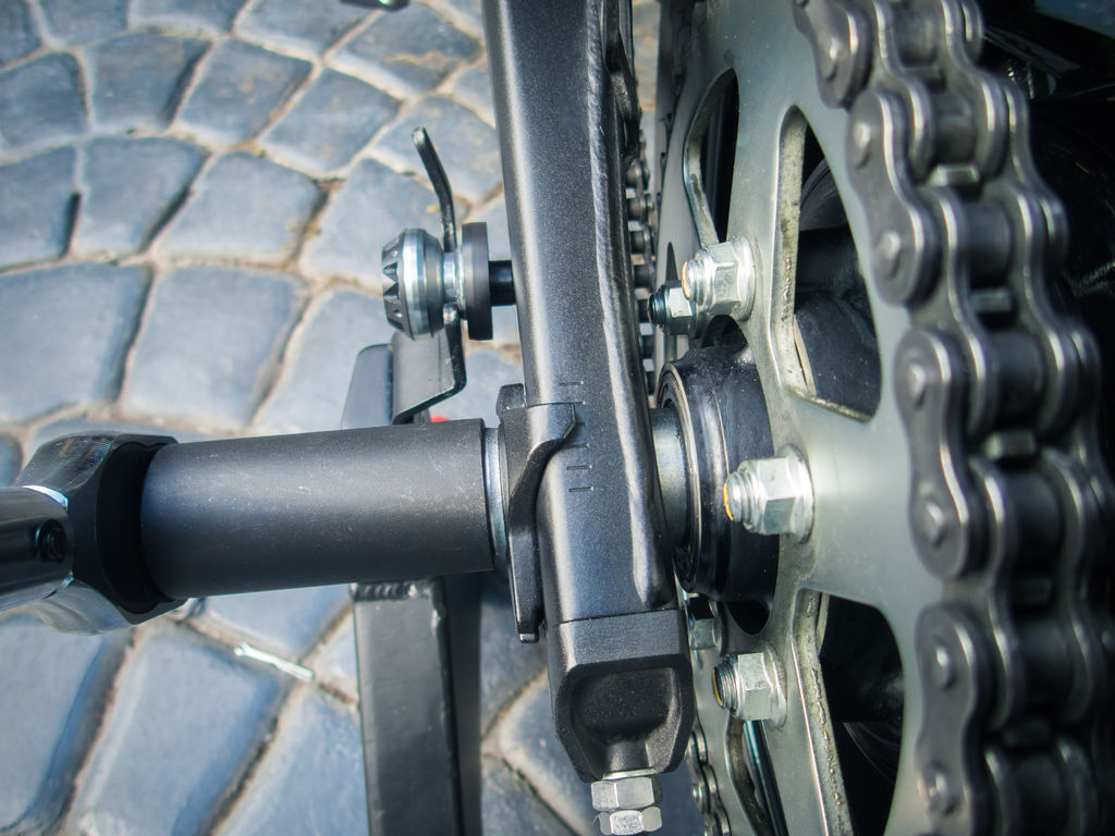 Motorcycle Chain Adjustment - Chain Tension & Rear Wheel