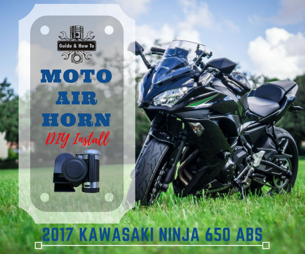 Motorcycle Horn Upgrade - Stebel Nautilus Air Horn & Kawasaki Ninja 650