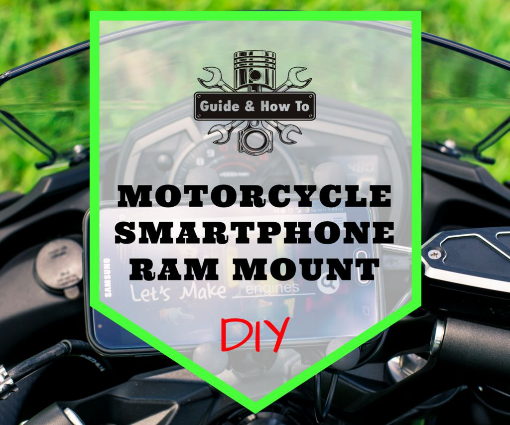 Ram Mount Motorcycle Phone Holder for Smartphones