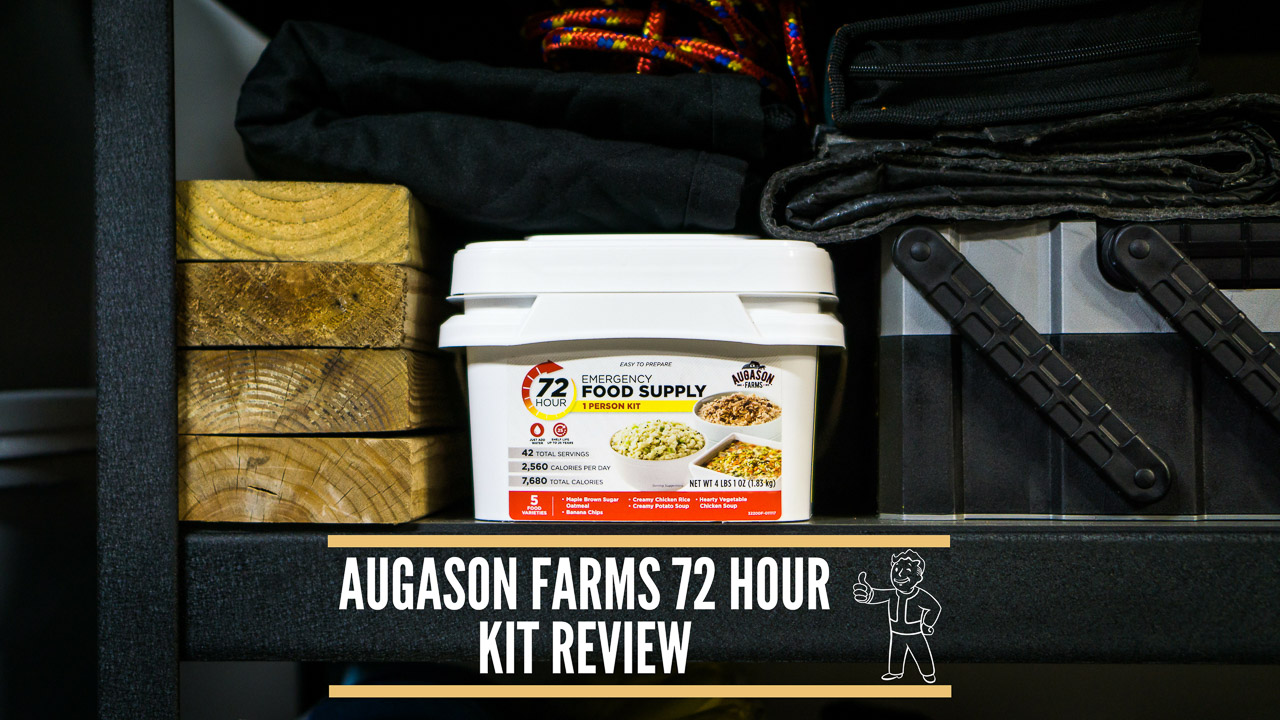 Augason Farms 72 Hour Kit - Survival Food Review - Title Thumbnail