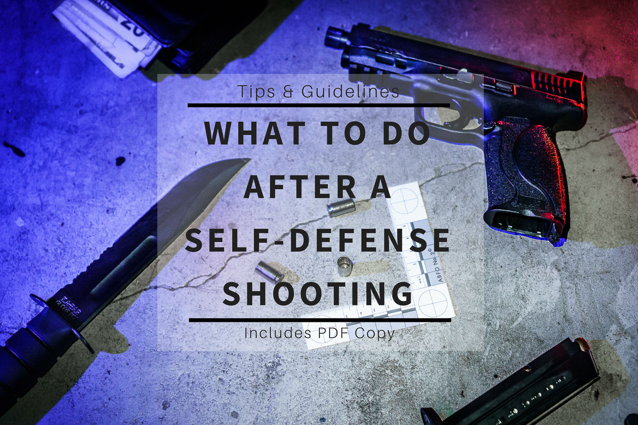 What To Do After a Self-Defense Shooting - Title Thumbnail