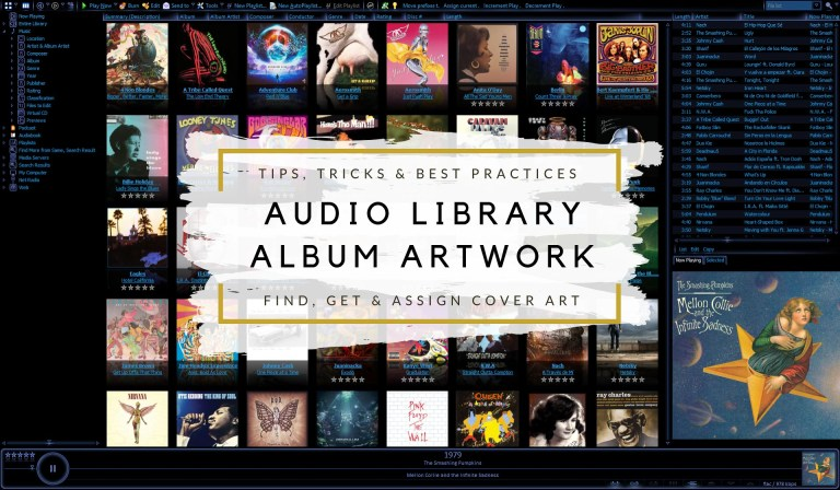 Tips & Tricks for Assigning Album Cover Art to your Music Library - Title