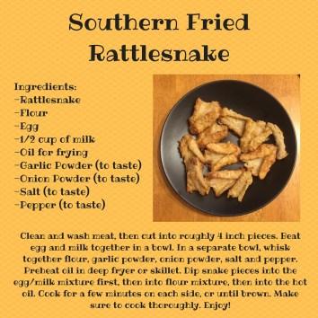 Southern Fried Rattlesnake