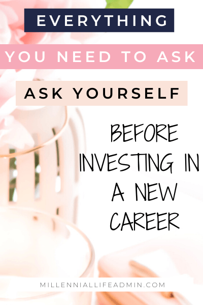 6 Questions You Need To Ask Before Staring A New Career