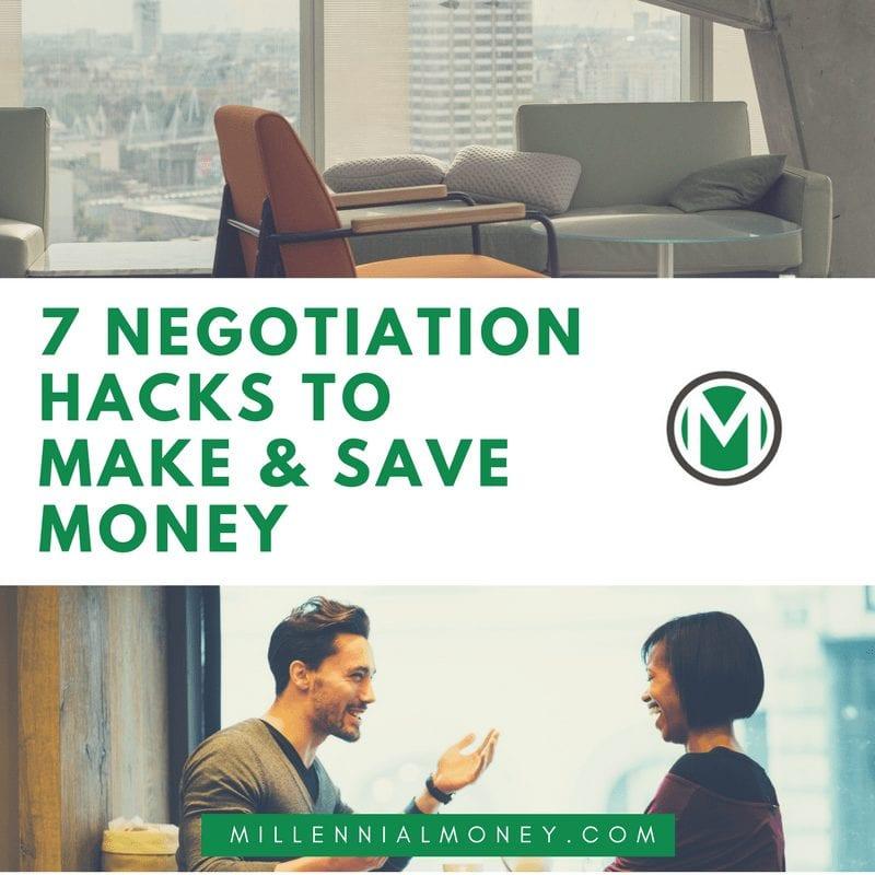 7 Negotiation Hacks to Make Save Money