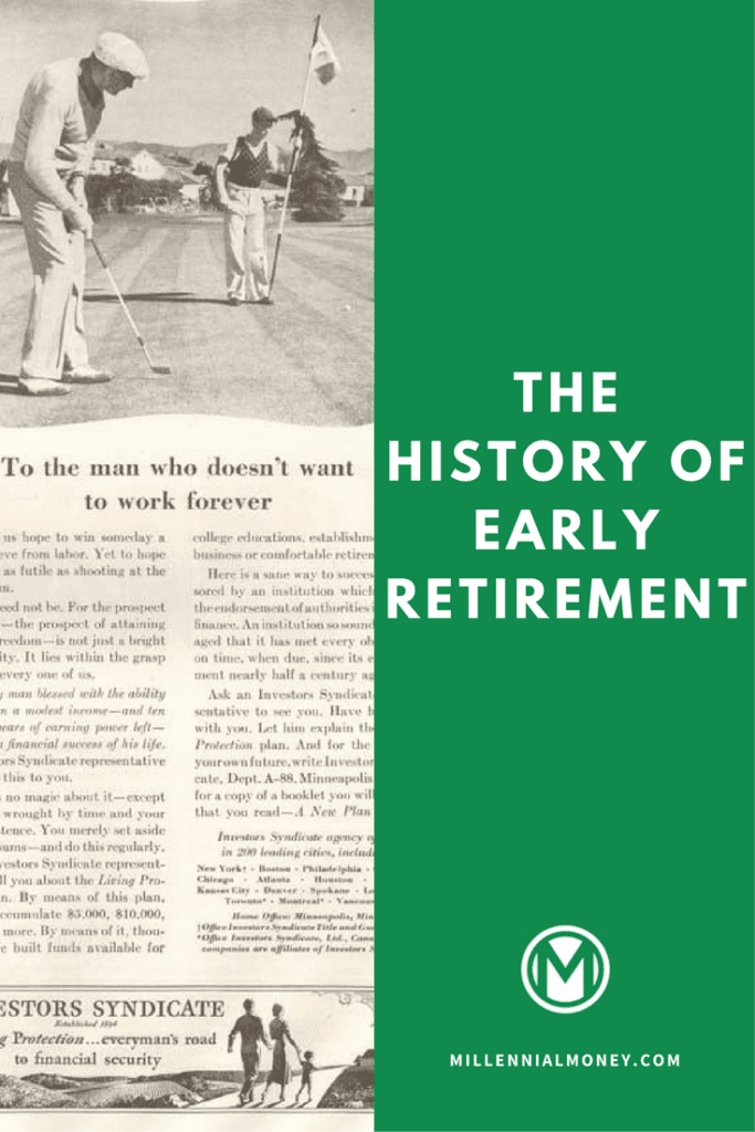 early retirement history