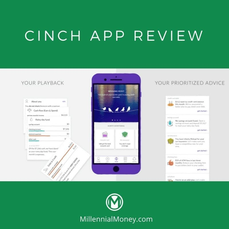 Cinch Financial App Review