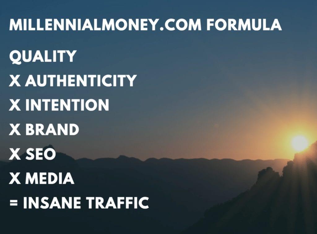 millennial money formula