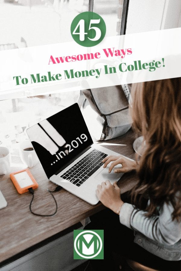 I think you'll agree when I say, college is very financially-draining. I've listed 45 ways to make money in college – without having to miss a class!