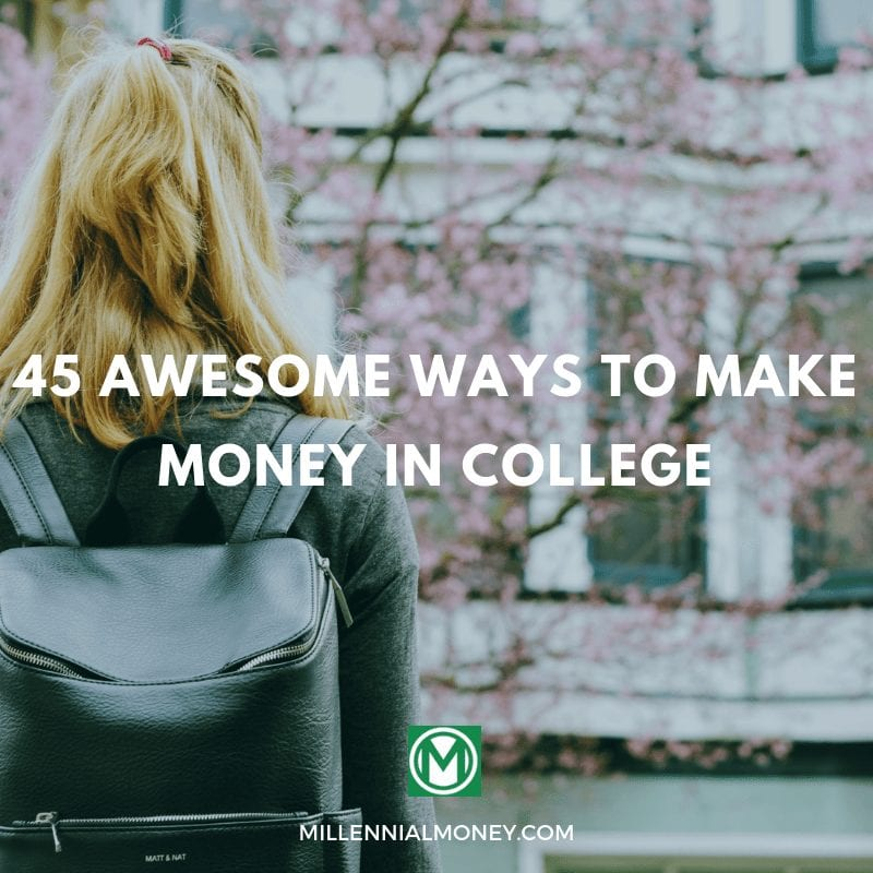 To Make Money In College