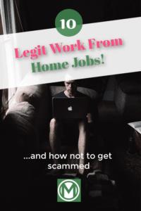 legitimate work from home jobs millennial money