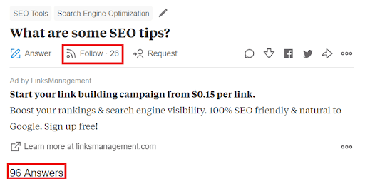 Steps to Drive Traffic to your Website with Quora. SEO tips