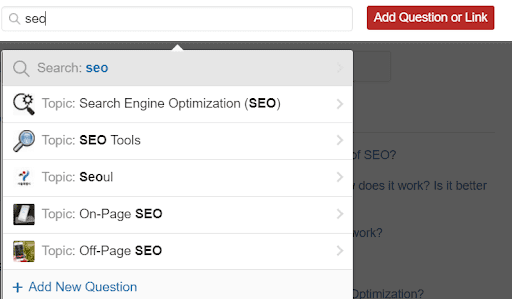 Steps to Drive Traffic to your Website with Quora. Quora Topics