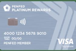 penfed platinum rewards card