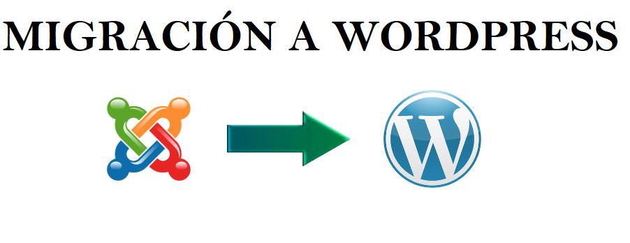 migración a wordpress