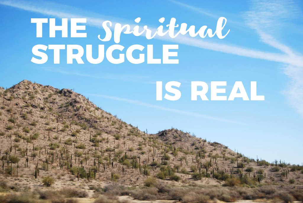 The Spiritual Struggle is Real | Millennials with Meaning