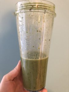 Green Smoothie - What I Ate On My Daniel Fast | Millennials with Meaning