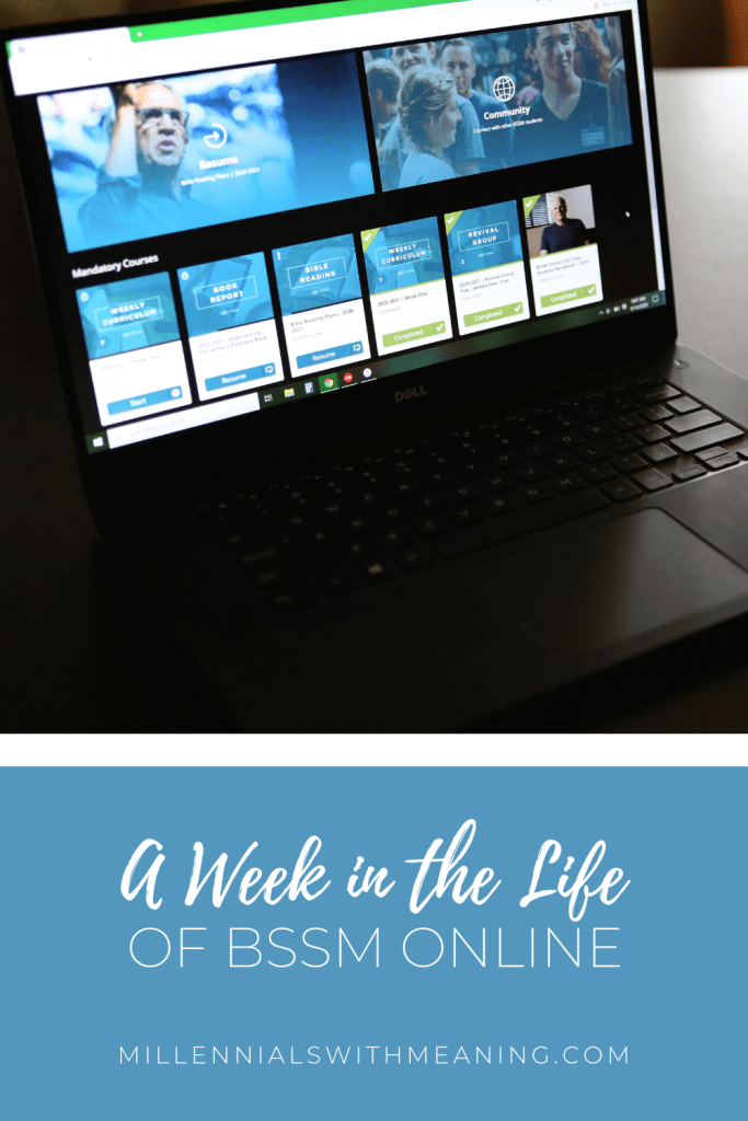 A Week in the Life of BSSM Online | Millennials with Meaning