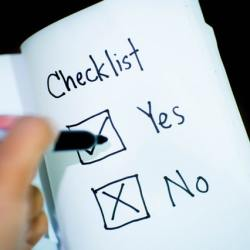end of year financial checklist