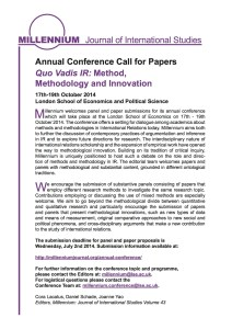 Our call for papers