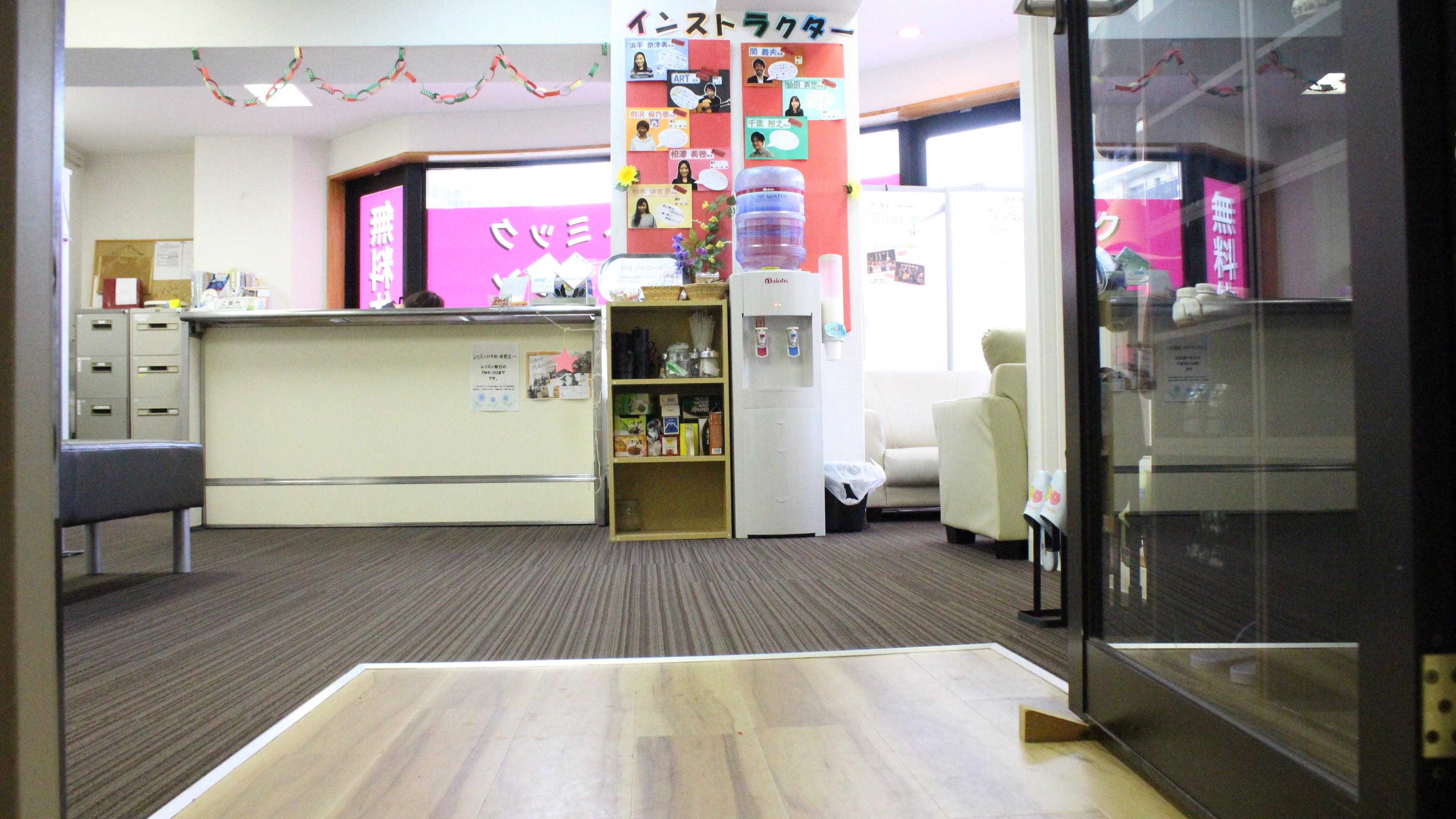 リトミック 教室内(松戸教室)