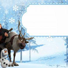 invitation la reine des neiges par