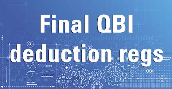 IRS provides QBI deduction guidance in the nick of time