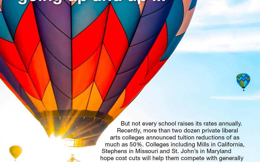 College Costs Keep Going Up and Up …