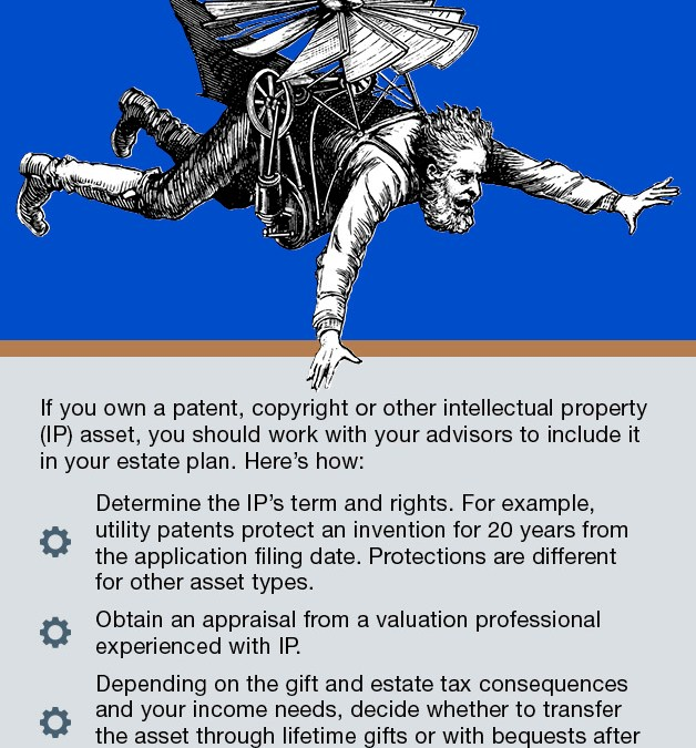 If You Own IP, Include it in Your Estate Plan