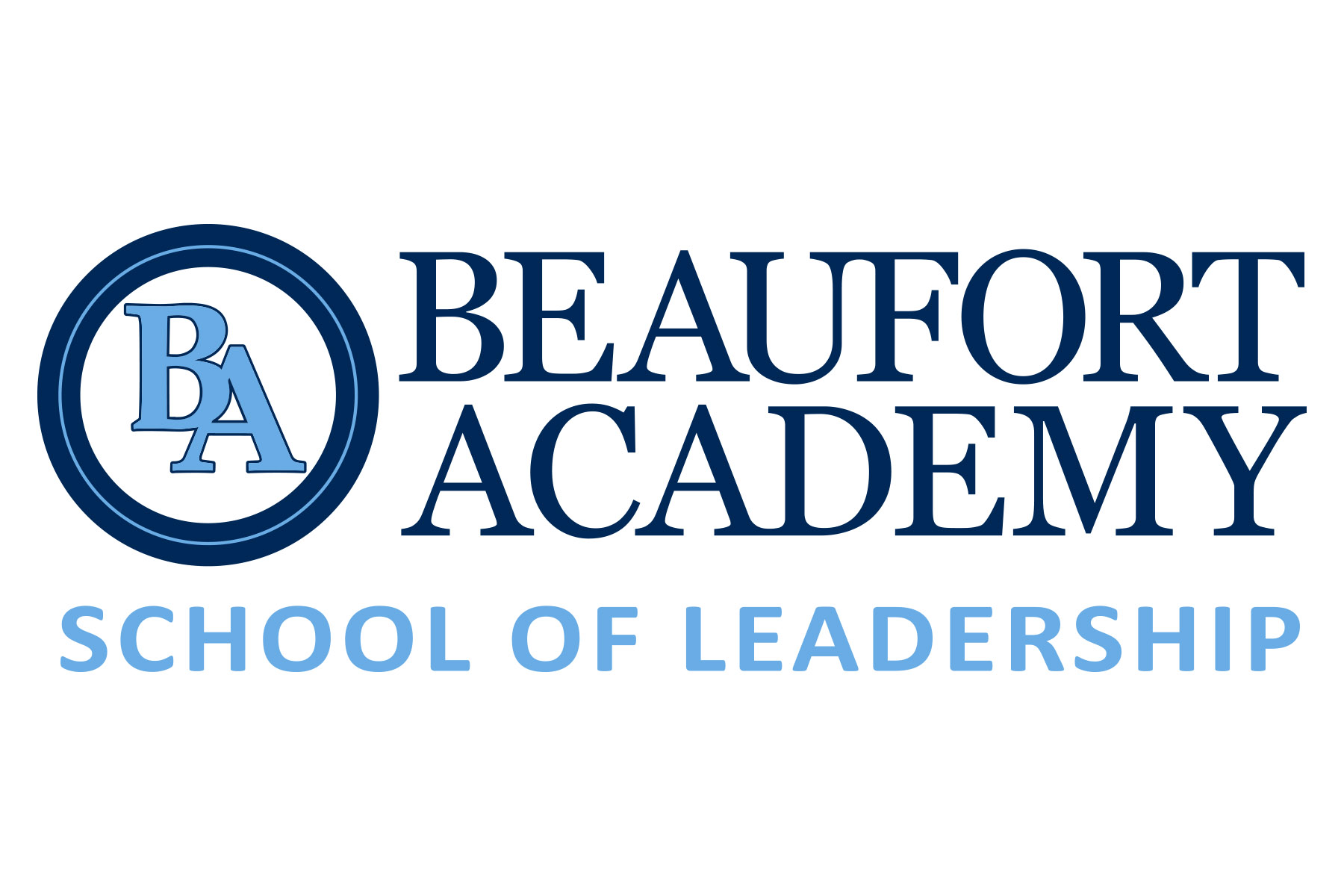 Logo Design for Beaufort Academy School of Leadership