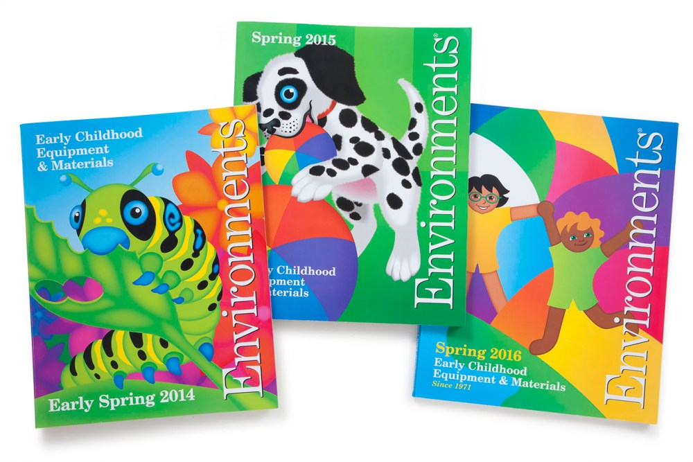 Photo of Catalog Graphic Design for Environment Covers
