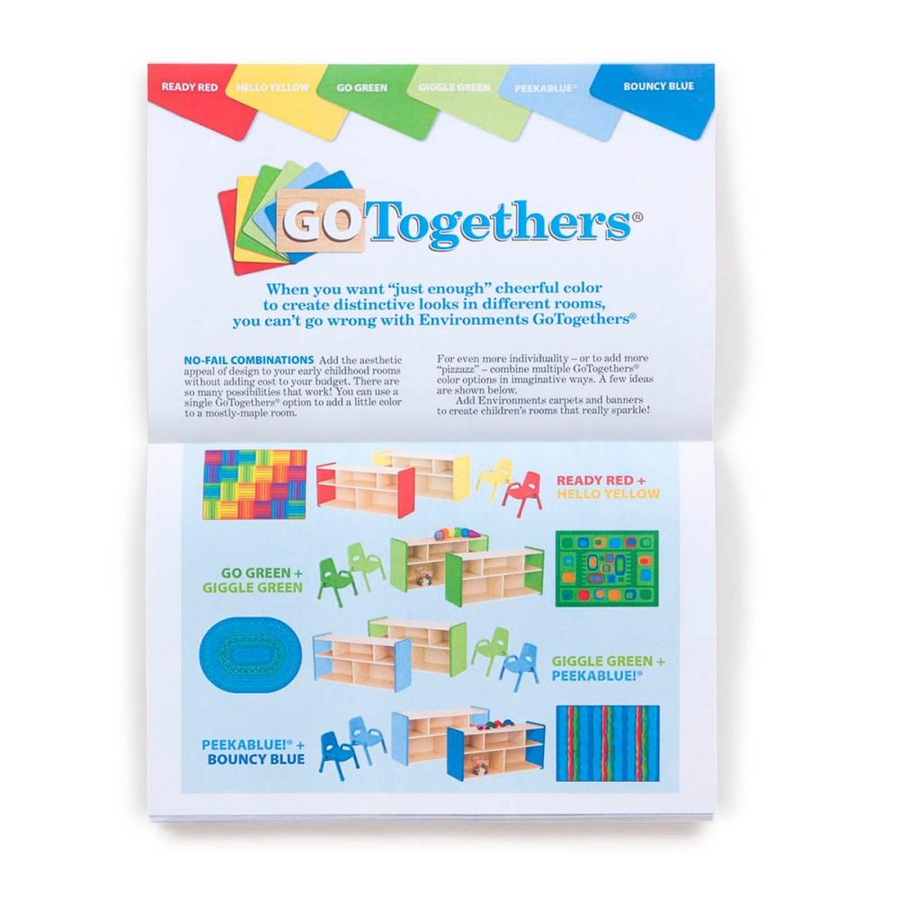 Print brochure interior spread