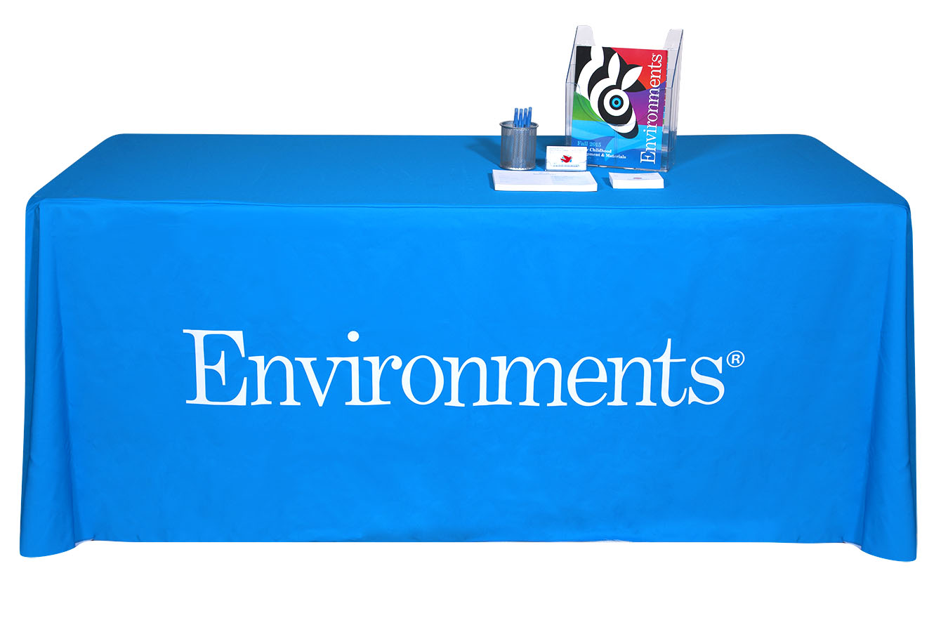 Dye sub logo tablecloth