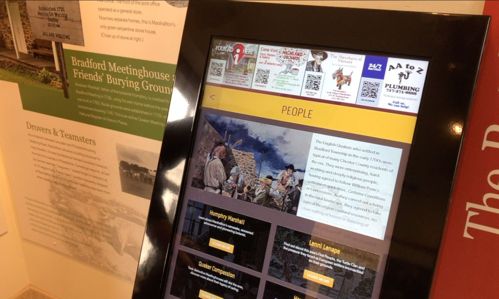 Touch History at the Marshallton Village Heritage Center