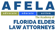 academy of elder law attorneys logo. this organization advocates for the rights of seniors