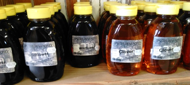 Local Raw Honey and Pure Maple Syrup.  JoJo's Kitchen this Saturday.