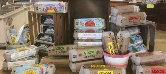Harris Seeds, seed starter kits!