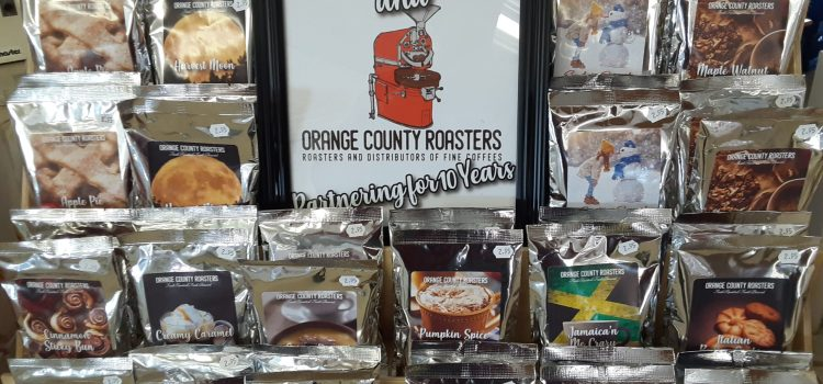 Flavored Coffee from Orange Roasters Coffee: