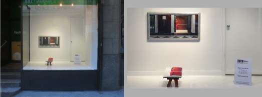 Window display at Art Fashion & Design