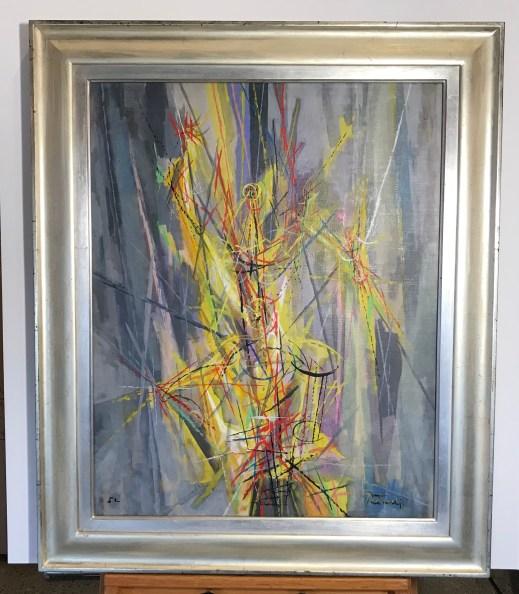 Peterdi Burning Bush Framed Final