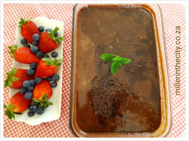 Traditional Malva Pudding with a Twist