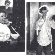 Hepburn - autographed photos
