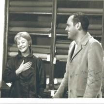 Jose Q. & Vivien L.-%22Roman Spring...%22 Movie set