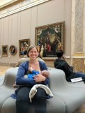 Nursing around Paris, pt. 1, the Louvre