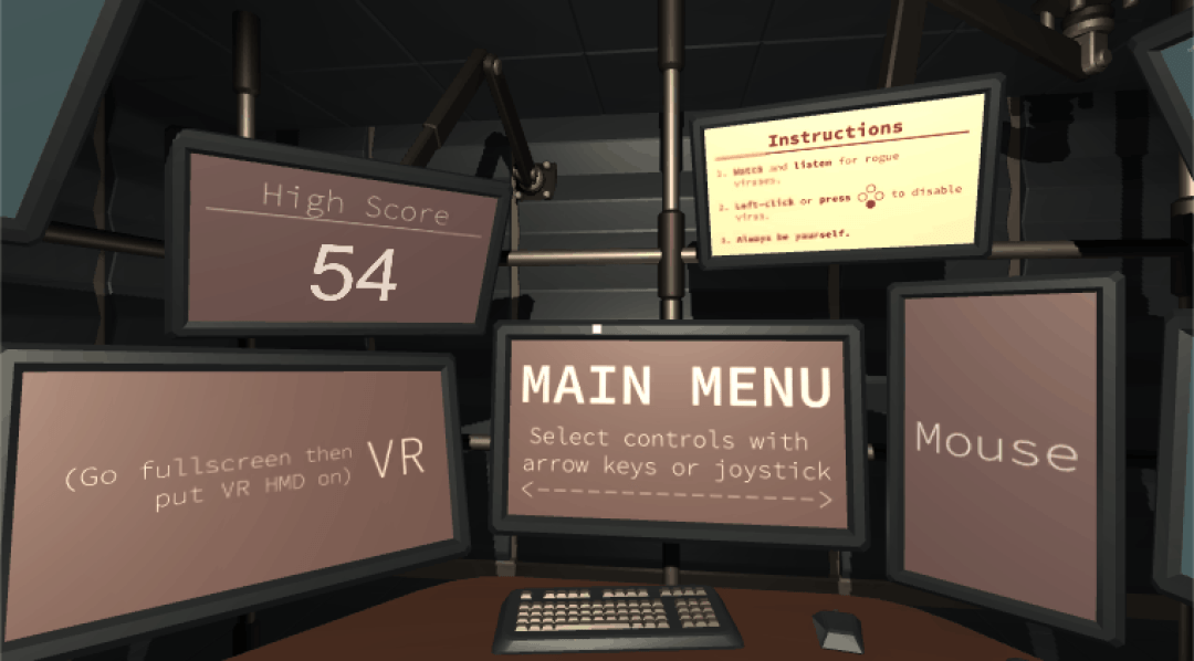 VR text