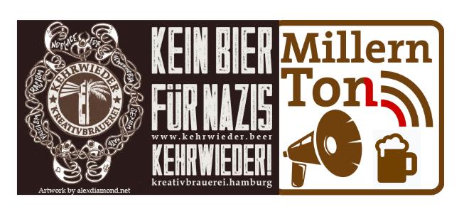 Kehrwieder trifft MillernTon – virtuelle Bierverkostung am 22. Januar 2021 um 19:10 Uhr
